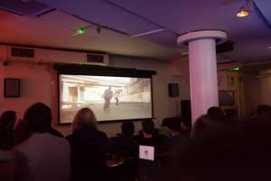 The films shown focused around art and skateboarding (Photo: Thomas Dekeyser).